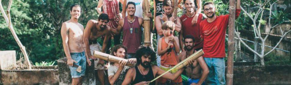 Este colectivo potosino busca regenerar el planeta con arquitectura de bambú
