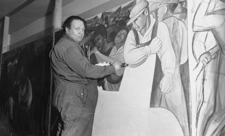 Obras maestras de rivera y tamayo ser n subastadas en ny for Un mural de diego rivera