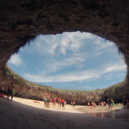 Islas Marietas en Nayarit, México
