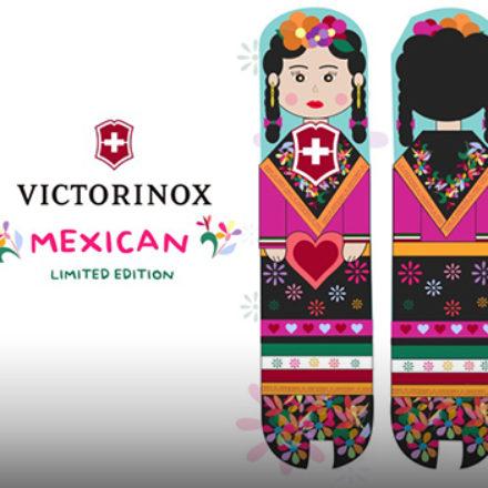 Victorinox luce talento mexicano en sus navajas de edición limitada