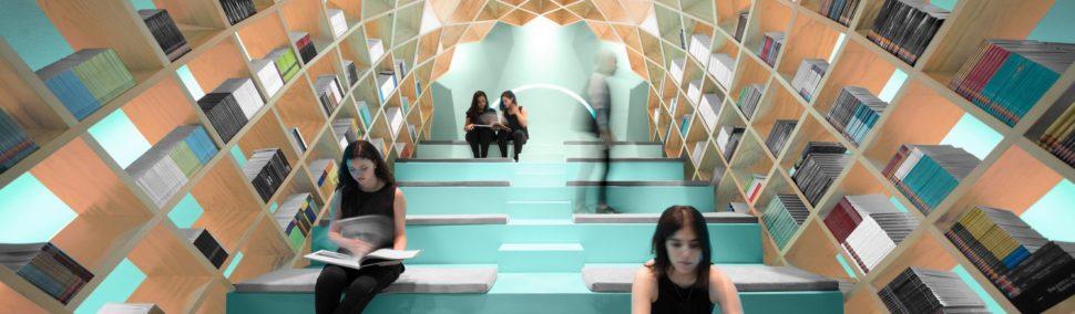Visita en Monterrey una de las librerías más deslumbrantes del mundo