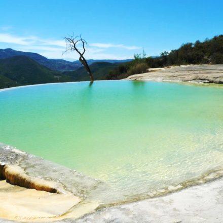 Hierve el Agua: un paraíso en México